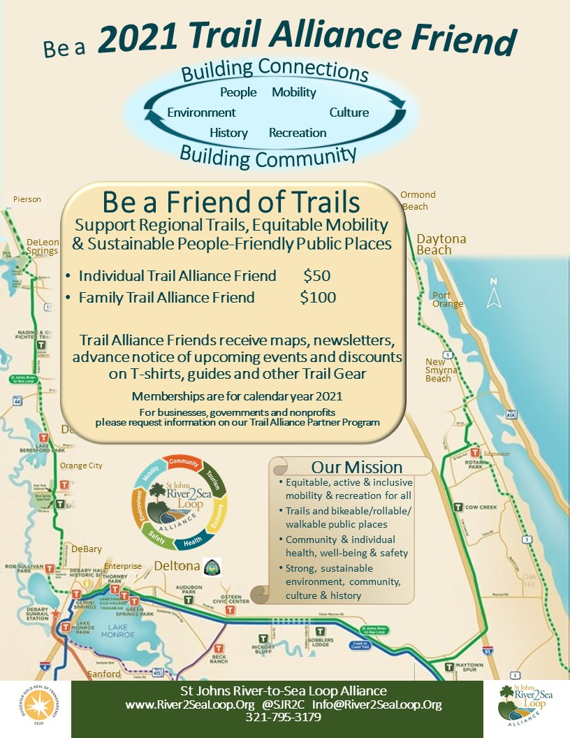River2SeaLoop Trail Alliance Friend program