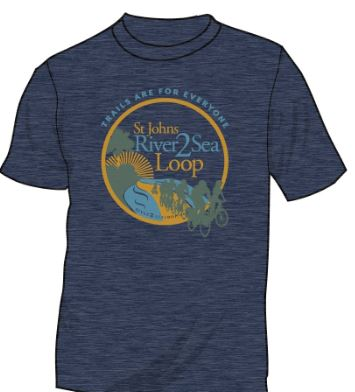 St Johns River-to-Sea Loop T-Shirt