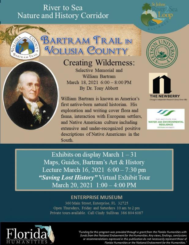 Creating Wilderness: Selective Memorial and William Bartram